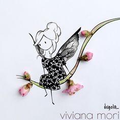 Virgola by Virginia Di Giorgio  Altra illustrazione per la nuova preziosissima collezione di @vivianamori  #virginiasdraws