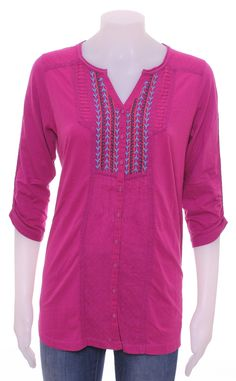 You will be pretty in pink with this tunic for only £10 from Trafford.