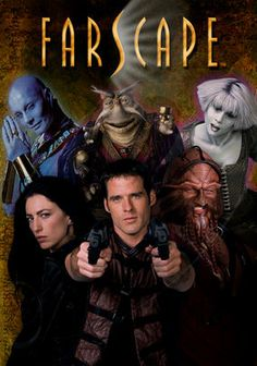 Farscape (1999) This Australian science fiction series follows the crew of Moya.  Just bad enough to enjoy alone during nap time.