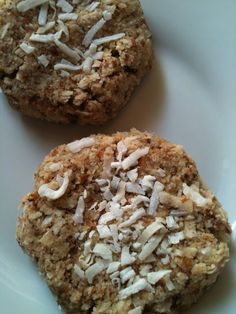 Almond-Coconut Macaroons - with almond pulp! Trying these right now!