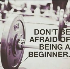 Health Motivation We were all beginners - embrace that first step - Garage gym, fitness, and Crossfit image gallery. These are motivational and fun images that I find and I take no credit for them. So share and pin away! Fitness Workouts, Fitness Club, You Fitness, Health Fitness, Trainer Fitness, Personal Fitness, Fitness Diet, Workout Tips, Workout Quotes