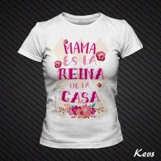 Custom Vinyl Camiseta Dia de la Madre La Mejor Mama Siempre Blanca, L - Normal