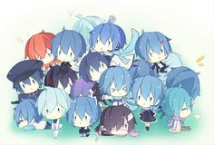 Vocaloid_It's all about Kaito! Vocaloid Kaito, Kaito Shion, Chibi Anime, All Anime, Anime Stuff, Gender Swap, Awesome Anime, Image Boards, Boy Or Girl