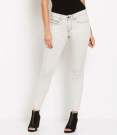 Eileen Fisher Mineral Washed Denim Skinny Jeans #Dillards