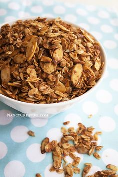 Vanilla-Almond Granola