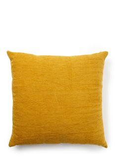 Only - plain chenille cushion in mustard yellow - other colours too Living Room Color Combination, Mustard Living Rooms, Room Colors, Colours, Mustard Yellow, Color Combinations, Ideal Home, Home Accessories, Cushions