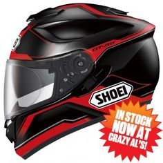 Shoei GT Air Journey TC-1 Motorcycle Helmet - Red - 77-423 - Crazy Al's Powersports Supply