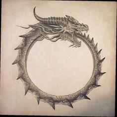 Future tattoo. #futuretattoo #ouroborus #Vikings #kneetattoo #InkForGood #InkGang #inkaddict #inkaholik