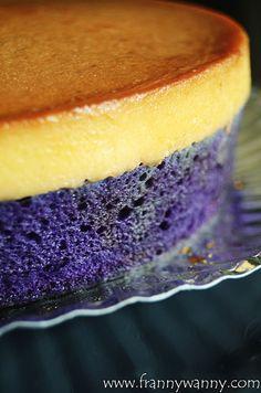 anghelica's ube leche cake. IDEA. NO RECIPE