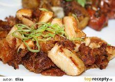 Moc dobré naložené kuřecí maso recept - TopRecepty.cz Steak, Pork, Beef, Kale Stir Fry, Meat, Steaks, Pork Chops