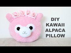 DIY Kawaii Alpaca Pillow | Alpaca Plushie | llama | Inspired By 2 Cats & 1 Doll | Jtru - YouTube Kawaii Diy, Kawaii Crafts, Kawaii Stuff, Diy Crafts For Girls, Cute Crafts, Kids Crafts, Alpaca Plushie, Alpaca Funny, Kawaii Alpaca