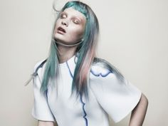 Multi-colored Pastel Hair, Nylon Mexico