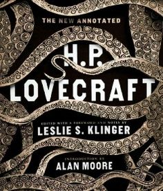 The new annotated H. P. Lovecraft by H.P. Lovecraft.  Click the cover image to check out or request the science fiction and fantasy kindle.
