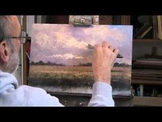 """A Sky tutorial, """"Clouds over a Norfolk Windmill"""". Acrylic - YouTube"""