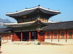 Second Gate at 경복궁 {Gyeongbokgung} Palace