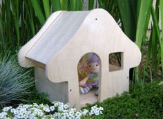 So great! got to get one for the kids!  Fairy House Playset Kit by toolboxkids on Etsy, $16.00