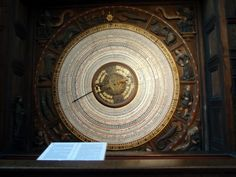 Calendar of the astronomical clock at St Mary's Church in Rostock, Germany Finland, Clocks, Calendar, Germany, Public, Mary, Rostock, Watches