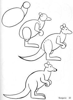 #Canguros #Dibujos #Dibujo #Afiches #Ilustraciones #Art #Diseno