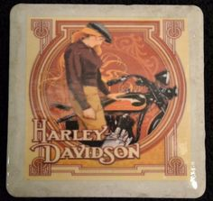 Coaster Harley Davidson Curves by TheCoasterMan on Etsy, $8.00