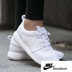 """Nike Roshe One """"All White Nike Roshe One """"All White"""" Women's size 9.5 NEW in box (no lid) Nike Shoes Sneakers"""