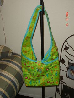 My grand-daughter used it for a book bag.