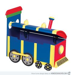 15 Toy Storage Bench for Kids