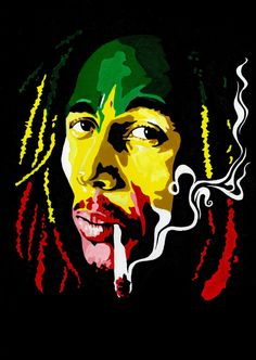 Bob Marley Wallpapers (The Best) – Phone Wallpapers Bob Marley Painting, Bob Marley Art, Reggae Bob Marley, Bob Marley Quotes, Bob Marley Dibujo, Reggae Art, Reggae Music, Rasta Art, Bob Marley Pictures
