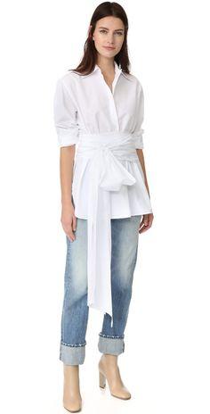 Tome Button Down Shirt   SHOPBOP