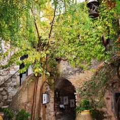 Eze small medieval village