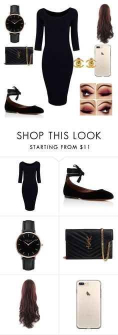 """out and about"" by westisha on Polyvore featuring Tabitha Simmons, Topshop, Yves Saint Laurent and Chanel"