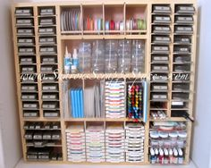 My Ultra Scrapbook Storage Unit Room Organization Craft