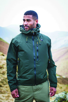 Get excited about rainy days with the Arete from Sprayway, a technical waterproof shell constructed from highly breathable exclusive 2 Layer Hydro-dry fabric. The Arete comes complete with a helmet-compatible hood, articulated sleeves and multiple pockets, making it ideal for those who venture onto tougher terrain. Product Code: #180063