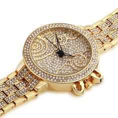 Find More Wristwatches Information about New Arrivals Women Dress Luxury Vacuum 18k Gold plated Czech Crystals Wristwatches White Rhinestone Watches Free Shipping,High Quality Wristwatches from ASM Fashion Jewelry on Aliexpress.com