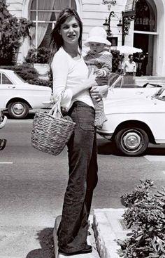 Jane Birkin #celebhair #classichair