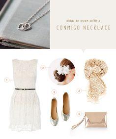 what to wear {conmigo necklace}