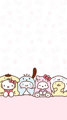 224 best hello kitty wallpaper images in 2019 Sanrio Wallpaper, Disney Phone Wallpaper, Hello Kitty Wallpaper, Kawaii Wallpaper, Cute Wallpaper Backgrounds, Wallpaper Iphone Cute, Pastel Wallpaper, Wallpaper Stickers, Kawaii Drawings