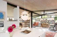 Holte Arkitekttegnet 60'er villa - åben konstruktion