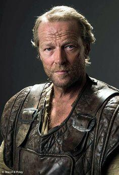 Iain Glen as Jorah Mormont - season 5…