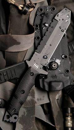 Hardcore Hardware MUK01 Mid Urban Tactical Fixed Knife Blade. Visit Pinterest @aegisgears