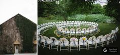 Beth + Caleb - Battlefield Bed and Breakfast Wedding; ceremony seating arrangement.   (James Garrett Photography, literally the best photographers in the Mid-Atlantic region).
