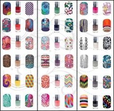 Jamberry Lacquer Match-ups
