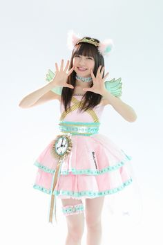 FRESH IDOL わーすた | HUSTLE PRESS OFFICIAL WEB SITE Cute Costumes, Kawaii Clothes, Pop Fashion, Costume Design, Editorial Fashion, Tutu, Asian Girl, Cute Pictures, Harajuku