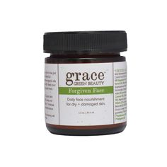 Organic daily moisturizer for dry + damaged faces.