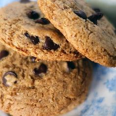 Buckwheat Chocolate Chip Cookies Recipe: Although I really don't see the necessity in using organic everything.