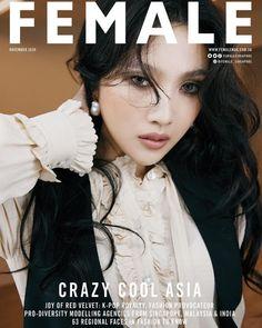 Joy Magazine, Beauty Magazine, Female Magazine, Fashion Face, Pop Fashion, Fashion Beauty, Womens Fashion, Red Velvet Joy, Red Velvet Irene