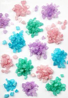 DIY Sparkling Bath Crystals