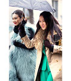Under our umbrella-ella. #ImKoo
