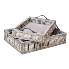 Crafted Home Harrisburg Rattan Tray