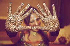 pretty bridal mehindi - very traditional
