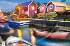 Die schwedische Insel Landsort liegt vor Stockholm, der südlichste Außenposten in der Stockholmer Schärenwelt mit ihren 24.000 Inseln.